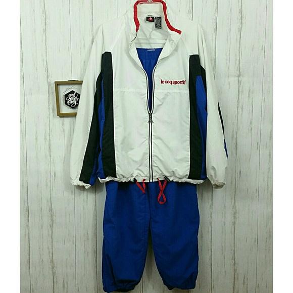 d1149d5c65c Le Coq Sportif Jackets & Coats | Tracksuit Size Medium | Poshmark